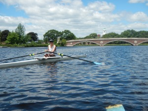 Rowing on the Charles, June 2013