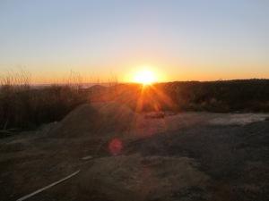 Daylight begins