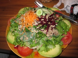 Salad at Frutti's