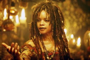Tia Dalma from Pirates of the Caribbean