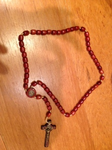 Wooden Rosary from the Vatican