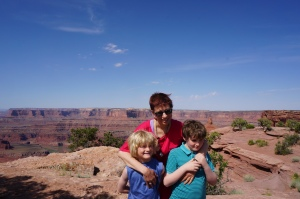 In Canyonlands National Park (Island in the Sky)