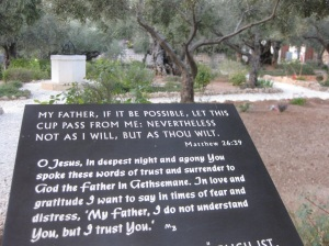 In the Garden of Gethsemane