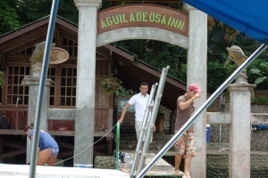 Arriving at Aguila de Osa