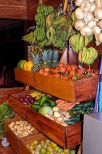 Produce in the kitchen