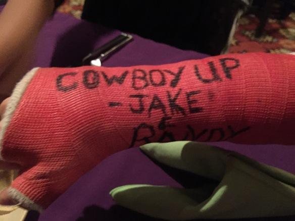 Cowboy Up cast